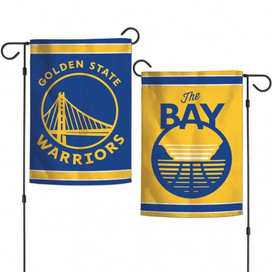 Golden State Warriors NBA Licensed Garden Flag