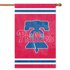 Philadelphia Phillies Applique Embroidered Banner Flag MLB
