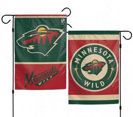 Minnesota Wild 2 Sided NHL Garden Flag
