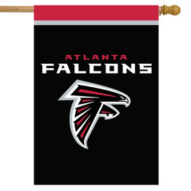 Atlanta Falcons NFL House Flag