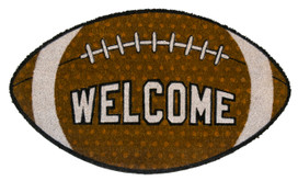 Football Natural Fiber Coir Doormat