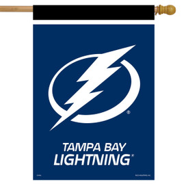Tampa Bay Lightning NHL Licensed House Flag