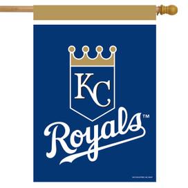 Kansas City Royals MLB Licensed House Flag