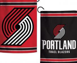 Portland Trail Blazers 2 Sided NBA Garden Flag