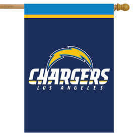 Los Angeles Chargers NFL House Flag