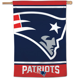 New England Patriots Vertical NFL Flag