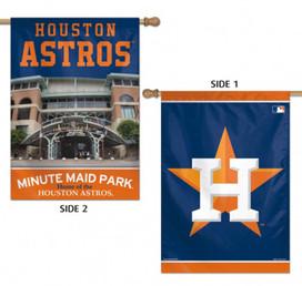 Houston Astros 2 Sided MLB Vertical House Flag