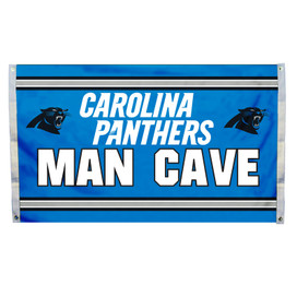 Carolina Panthers Man Cave Grommet Flag