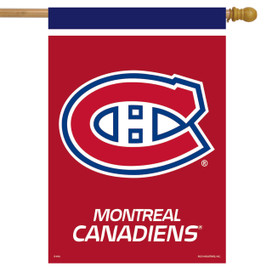 Montreal Canadiens NHL House Flag
