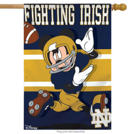 Notre Dame Fighting Irish NCAA Mickey Mouse House Flag
