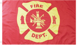 Fire Department Grommet Flag