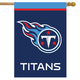 Tennessee Titans NFL House Flag