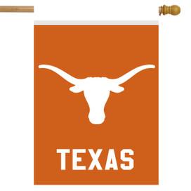 Texas Longhorns NCAA House Flag