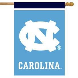 North Carolina Tar Heels NCAA Licensed House Flag