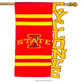 Iowa State University Cyclones Licensed NCAA House Flag