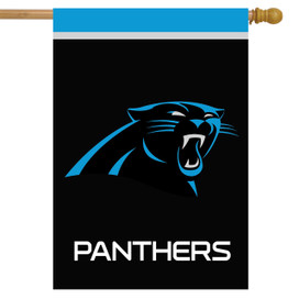 Carolina Panthers NFL House Flag
