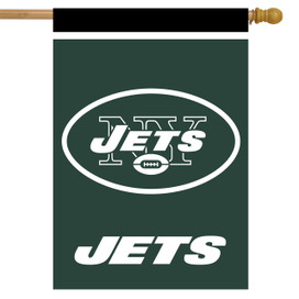 New York Jets NFL House Flag