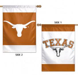 University of Texas Longhorn 2 Sided NCAA House Flag