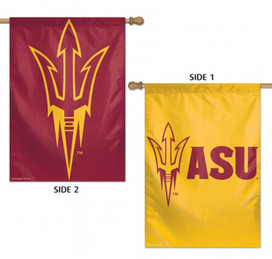 Arizona State University Sun Devils 2 Sided House Flag