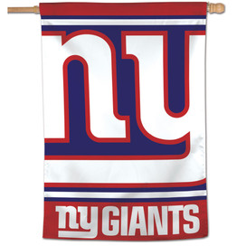 NY Giants Vertical NFL House Flag