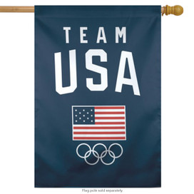 Team USA Olympic Official House Flag