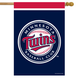 Minnesota Twins MLB House Flag