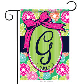 Southern Monogram G Garden Flag