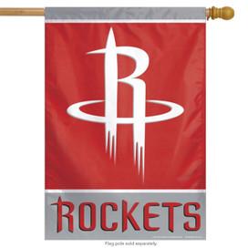 Houston Rockets NBA Vertical House Flag