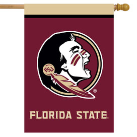 Florida State Seminoles NCAA House Flag