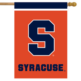 Syracuse Orange NCAA House Flag