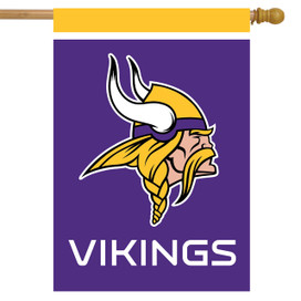 Minnesota Vikings NFL Licensed House Flag