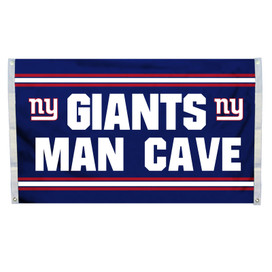 New York Giants Man Cave Grommet Flag