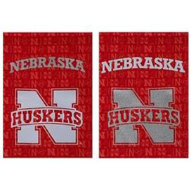 University of Nebraska Cornhuskers Glitter Garden Flag