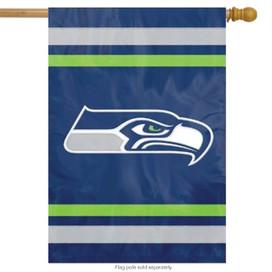 Seattle Seahawks Licensed NFL House Flag