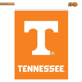 Tennessee Volunteers NCAA House Flag