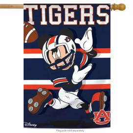 Auburn University Tigers NCAA Mickey Mouse House Flag