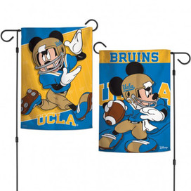 UCLA Bruins NCAA Mickey Mouse Garden Flag