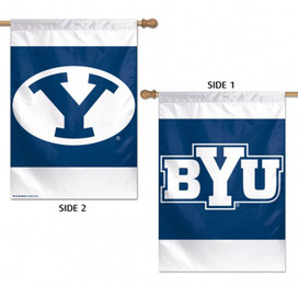 Brigham Young University Cougars 2 Sided NCAA House Flag