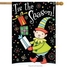 Tis The Season! Christmas House Flag