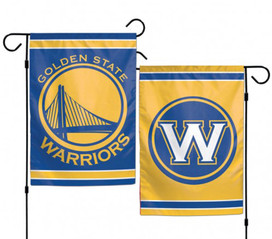 Golden State Warriors NBA 2 Sided Garden Flag