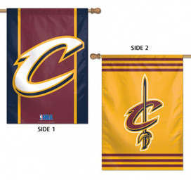 Cleveland Cavaliers 2 Sided NBA Vertical House Flag