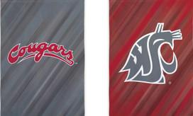 Washington State NCAA Licensed House Flag