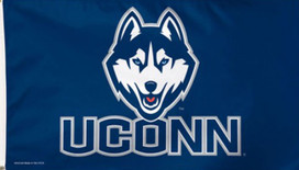 University of Connecticut UCONN Deluxe Grommet Flag