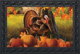 Harvest Turkey Fall Doormat