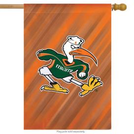 University of Miami NCAA Licensed House Flag