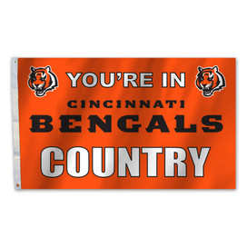 Cincinnati Bengals Country Grommet Flag