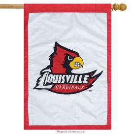 University of Louisville Applique NCAA Licensed House Flag