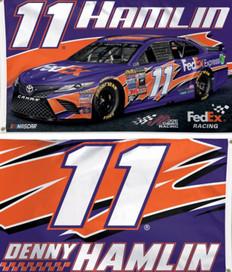 Denny Hamlin #11 NASCAR Grommet Flag