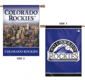 Colorado Rockies 2 Sided MLB Vertical House Flag