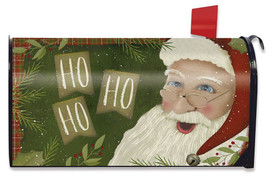 Primitive Santa Christmas Large / Oversized Mailbox Cover